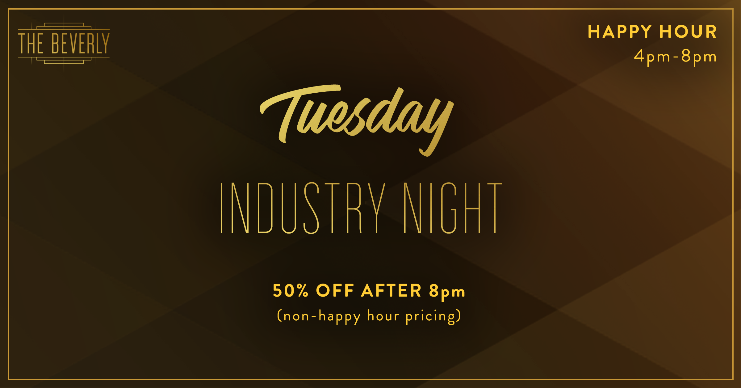 Tuesday industry night